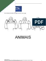 Apostila Animais - LIBRAS