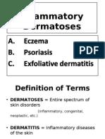 HANDOUT 3Y Inflammatory Dermatoses 5-28-2012