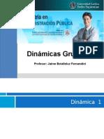 Dinámicas Grupales  Planeamiento Estratégico- taller