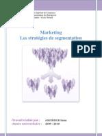 Stratégies de segmentation