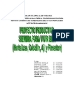 Proyecto Productivo Las Locas de Las Matas Centrol