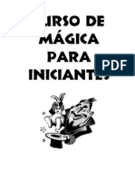 Curso De Mágica Para Iniciantes - Ciro Régis
