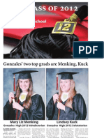 Gonzales Cannon 2012 Graduation Special Section