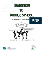 Middle School Booklet for Parents (Rev Mar 11)