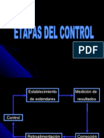 Etapas Del Cotnrol
