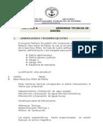 Memoria y Especificaciones Tecnicas de Los Sistemas Hidrosanitarios