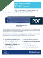 NVR-As 3000 FD Datasheet-Letter