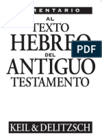Comentario Al Texto Hebreo Del Antiguo Test Amen To
