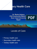 Primary Health Care Presentation - Dr. Rasha Salama