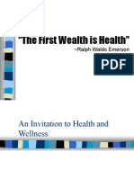 Chapter 1a an Invitation to Health and Wellness