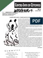 Bulletin de Contre-Info en Cevennes N°6