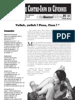Bulletin de Contre-Info en Cevennes N°11