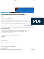 Syslinux e múltiplas distribuições no pendrive USB