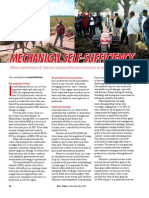 RT Vol. 8, No. 4 Mechanical self-sufficiency