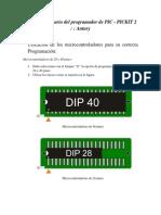 Manual de Usuario de Program Ad Or PIC Antury