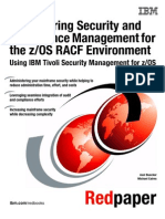 Empowering Security and Compliance Management for the Z-OS RACF Environment Using IBM Tivoli Security Management for Z-OS Redp4549