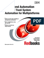 End-To-End Automation With IBM Tivoli System Automation for Multi Platforms Sg247117