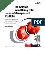 End-To-End Service Management Using IBM Service Management Portfolio Sg247677