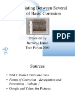 Tech Forum 2009 - Basic Corrosion