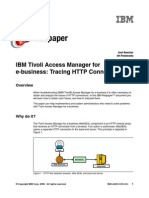IBM Tivoli Access Manager for E-business Tracing HTTP Connections Redp4622
