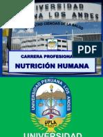 Carrera de Nutricion Humana 2012