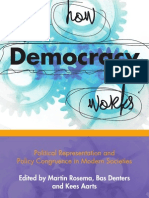 Martin Rosema Bas Denters Kees Aarts-How Democracy Works Political Representation and Policy Congruence in Modern Societies-Amsterdam University Press(2011)