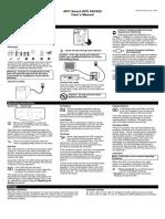 Apc 420 Ups Manual