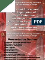 MITI - FMM Rules and Procedure for FTA (Awana Genting, 19 Mei 2012)