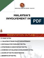 MITI - Perjanjian Perdagangan Bebas, FTA (Awana Genting, 19 Mei 2012)