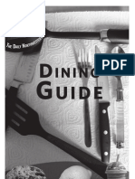 Daily Northwestern Dining Guide