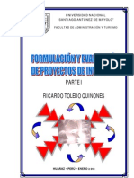 Manual de Proyectos de Inversion I