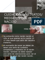 CUIDADOS MEDIATOS DEL RECIÉN NACIDO