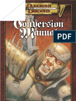 AD&D 3rd Ed. - Conversion Manual