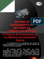 Sistema de Enfriamiento de Motores de Combustión Interna