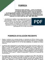 Pobreza y Distribucion Del Ingreso