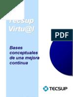 Bases Conceptuales de Mejora Continua