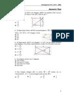 Questões Geometria (UFC)