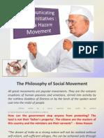 Communicating Social Initiatives - Anna Hazare Movement-Group9