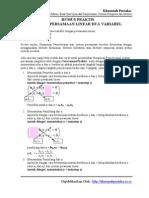 Plugin Sistem Persamaan Linear Rumus Praktis