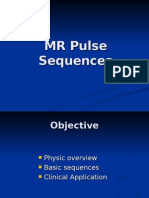 MR Pulse Sequences