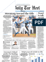 The Daily Tar Heel for May 24, 2012