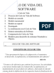 Ciclo de Vida Software