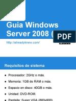Guía Windows Server 2008 (Parte 1) - Instalación