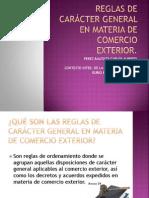 REGLAS DE CARÁCTER GENERAL EN MATERIA DE COMERCIO