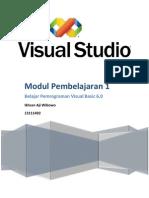 Ikhsan Aji W   Modul 1 Pemrograman VB 6.0