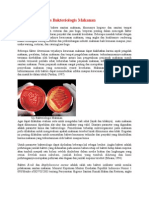 Indikator Kualitas Bakteriologis Makanan
