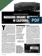 Management Organic California
