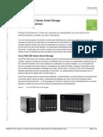 Spanish Cisco NSS 300 Series Smart Storage DS 0430
