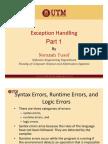 Lecture28-ExceptionHandlingPart1