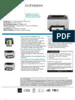 impresora hp cp1025nw